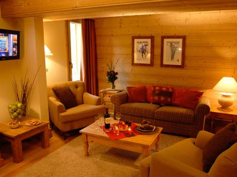 ski in ski out chalet apartment Val d'isere