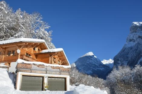 A stunning chalet in a fantastic location